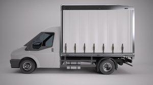 van freight box 3d max
