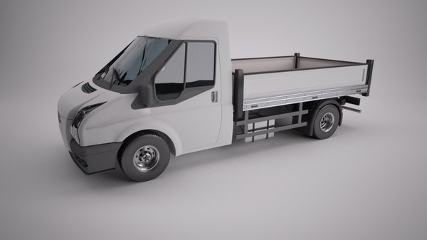 van freight box 3d model