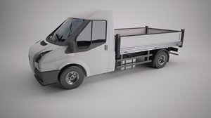van freight box 3d model