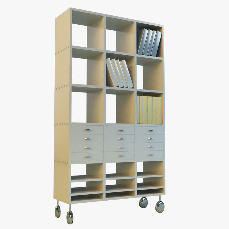 3d model of cabinet