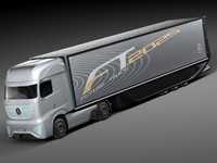 Mercedes-Benz FT 2025 Future Truck with trailer