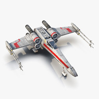 Star Wars X-Wing Starfighter Red 2