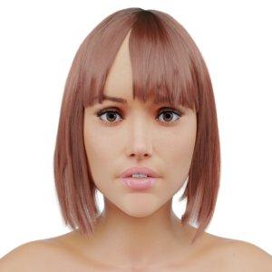 3d female skin model