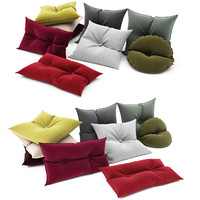 3d model of pillows 02
