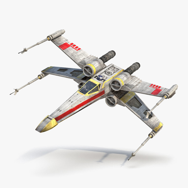 3d star wars x wing