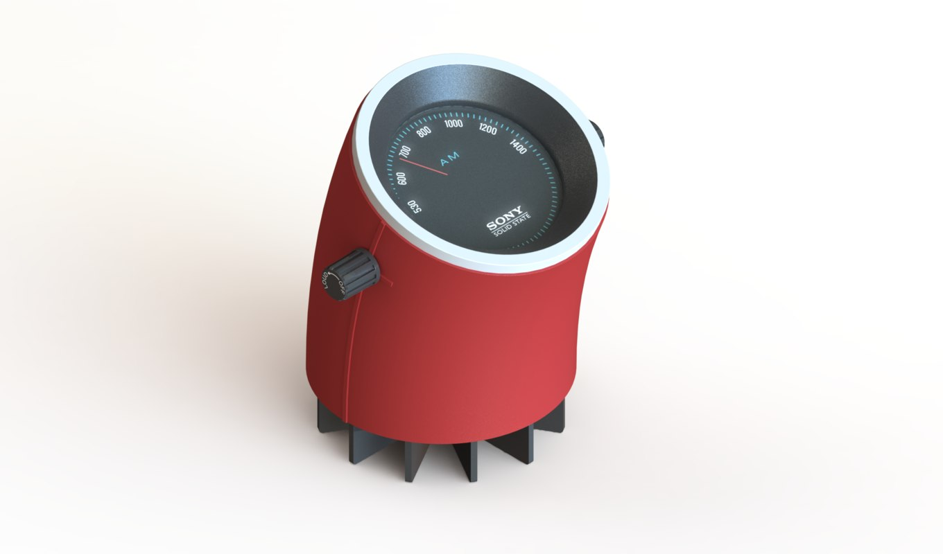 3d model solidworks sony tr-1824
