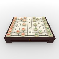 maya xiangqi chess board -