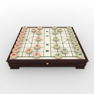 maya xiangqi chess board -