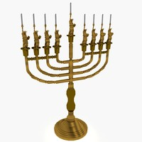 3ds menorah