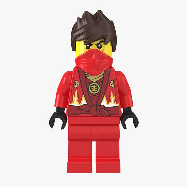 3d model kai lego ninjago