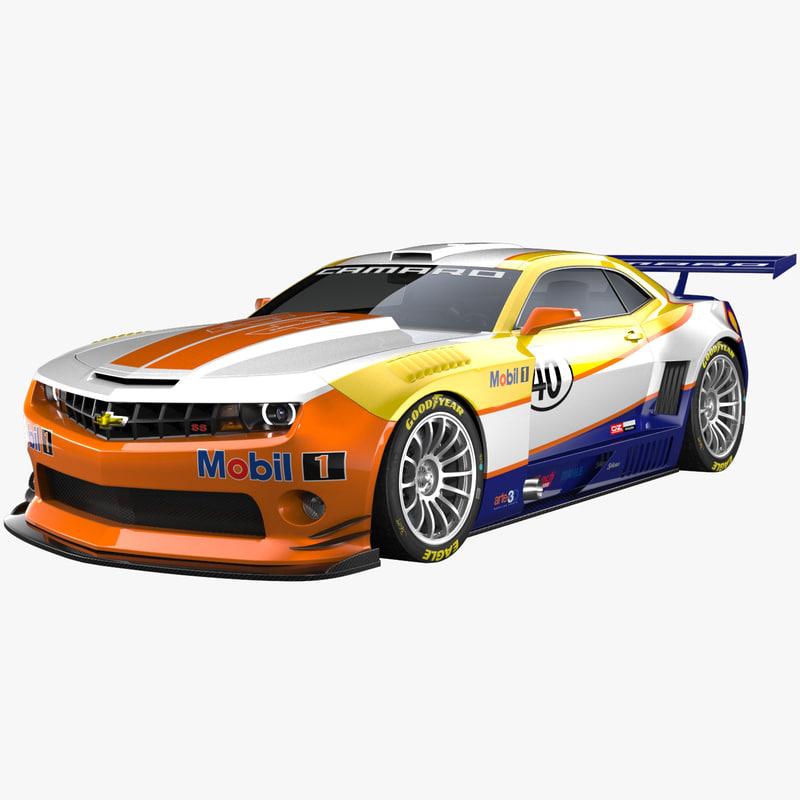 camaro racing concept 3ds