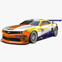camaro racing concept 3ds