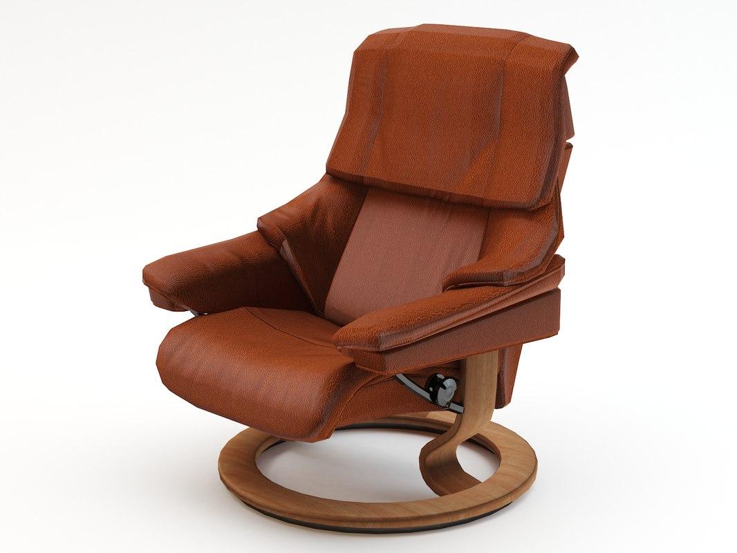chair armchair arm 3d max