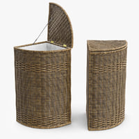 Wicker Basket Rattan 1