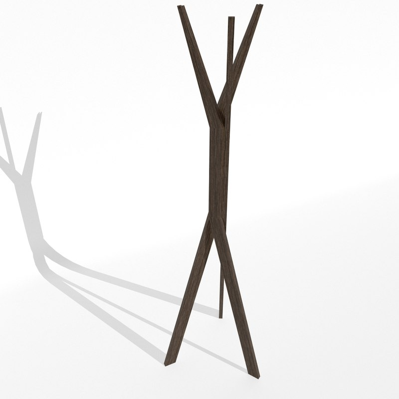 cloth stand javorina 3d max