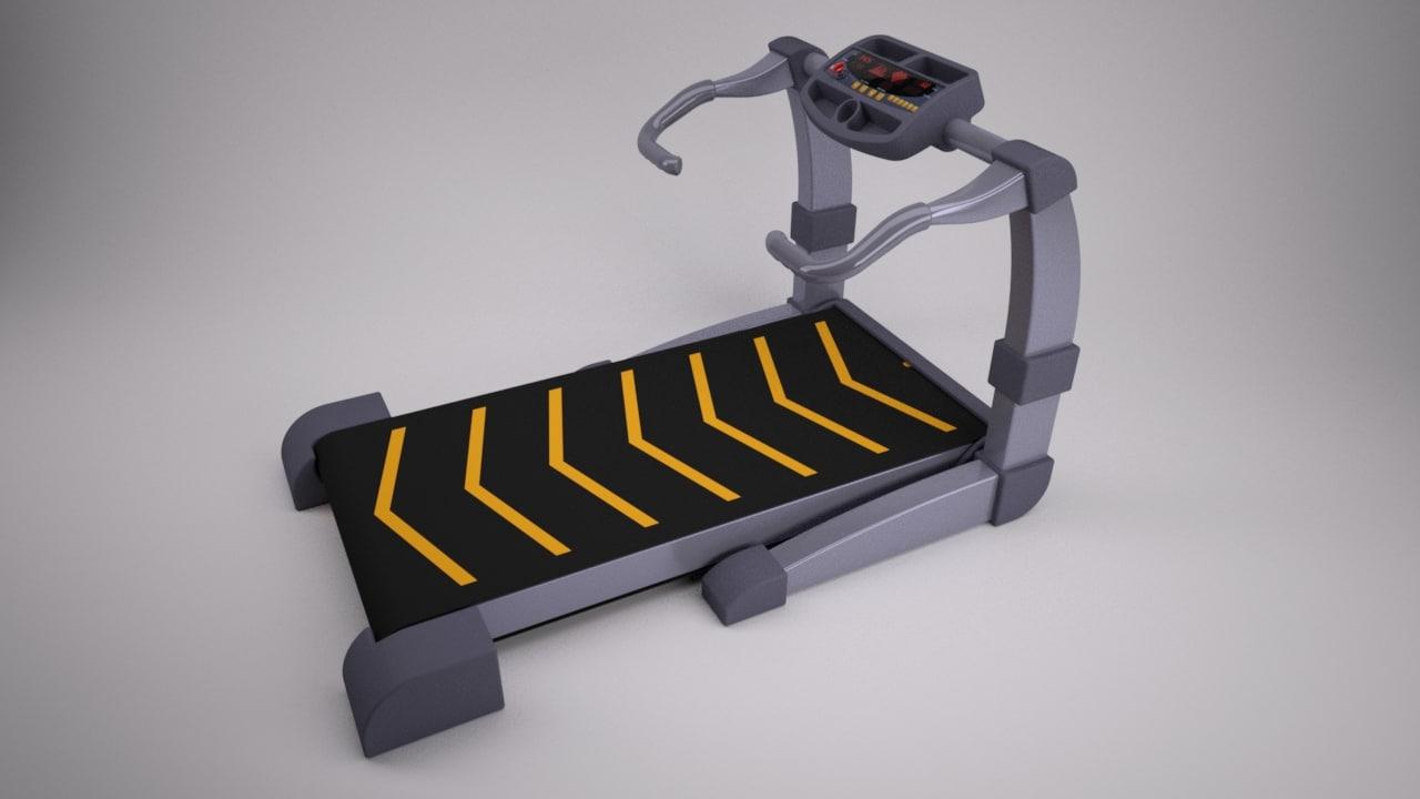 gym 3d model