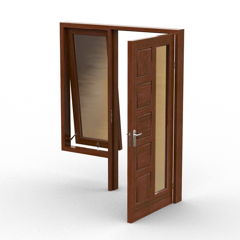 window door 3d model