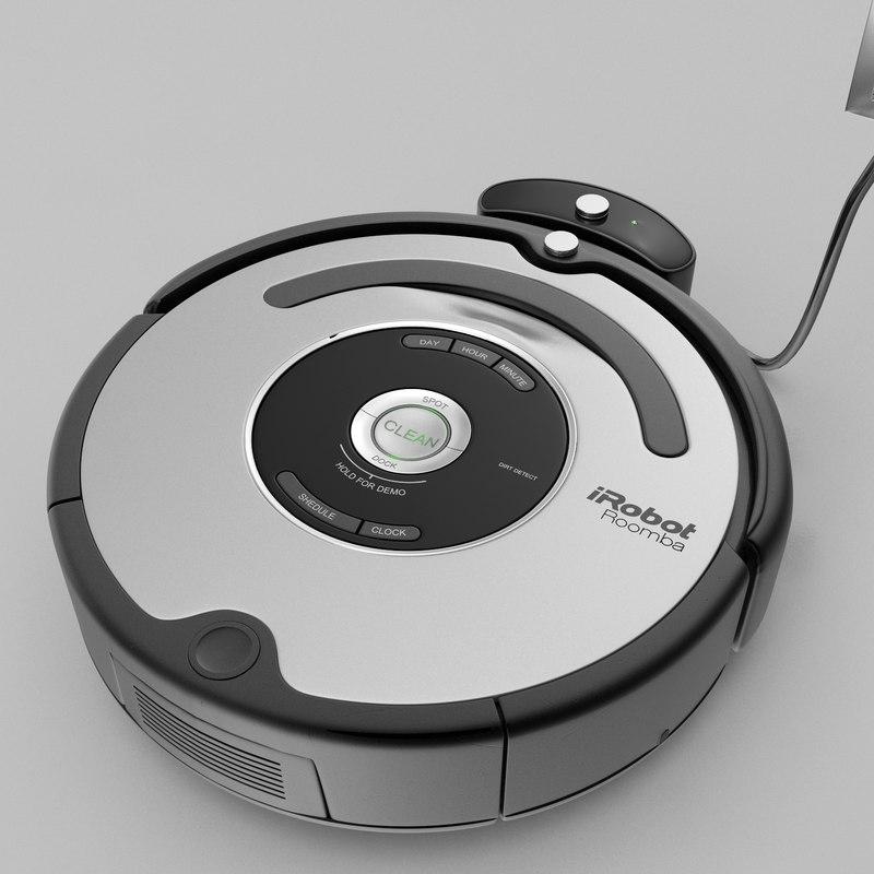 3d Irobot Roomba 581 Model