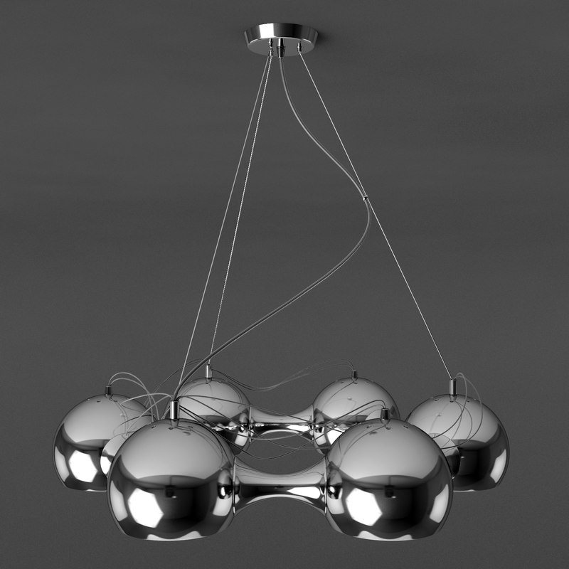 3d regenbogen lamp pendant