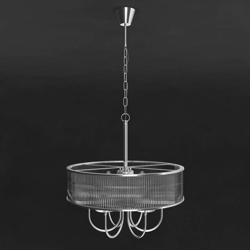 regenbogen chandelier lamp 3d model