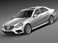 Mercedes-Benz E-Class AMG Sedan 2015