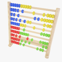 3d abacus toy