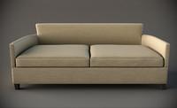 3d rudin sofa 2612 model
