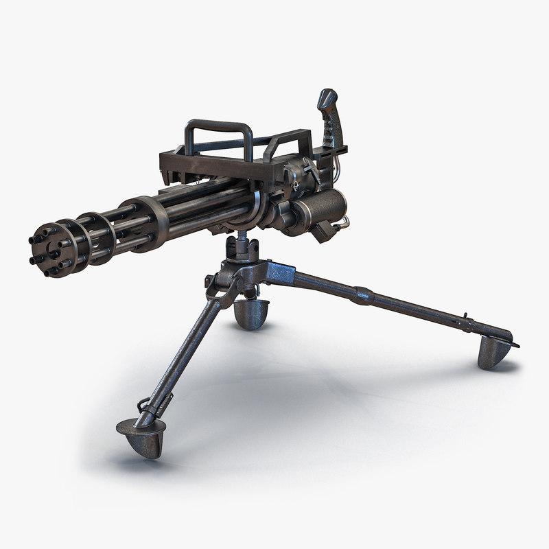 max minigun tripod mount