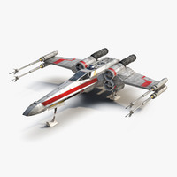 Star Wars X-Wing Starfighter and R2D2 Red 2