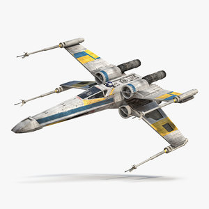 3ds max star wars x wing