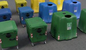 garbage bins 3d model