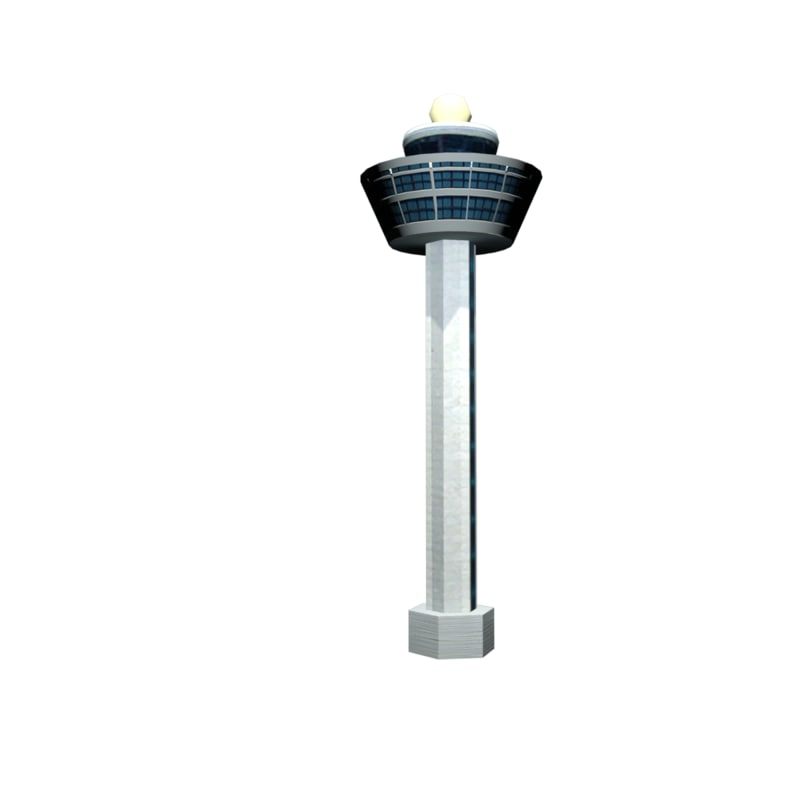 3ds max singapore changi airport tower