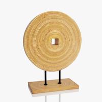 3d wooden decoration model