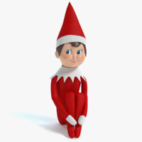 elf shelf 3d 3ds