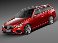Mercedes-Benz E-Class AMG Estate 2015