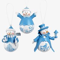 snowman 3d model