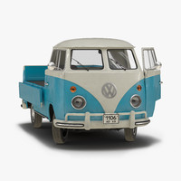 3ds max volkswagen type 2 single