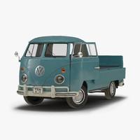3d volkswagen type 2 single