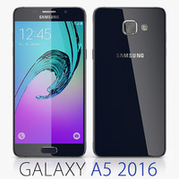 3d samsung galaxy a5 2016 model
