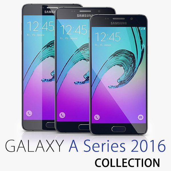 3d model samsung galaxy 2016