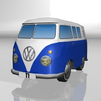 Toy car Volkswagen Transporter T1
