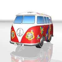 Toy car Hippie-Bus