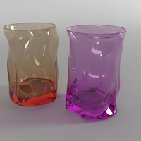 free set glasses 3d model