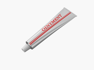 3d toothpaste ointment paste