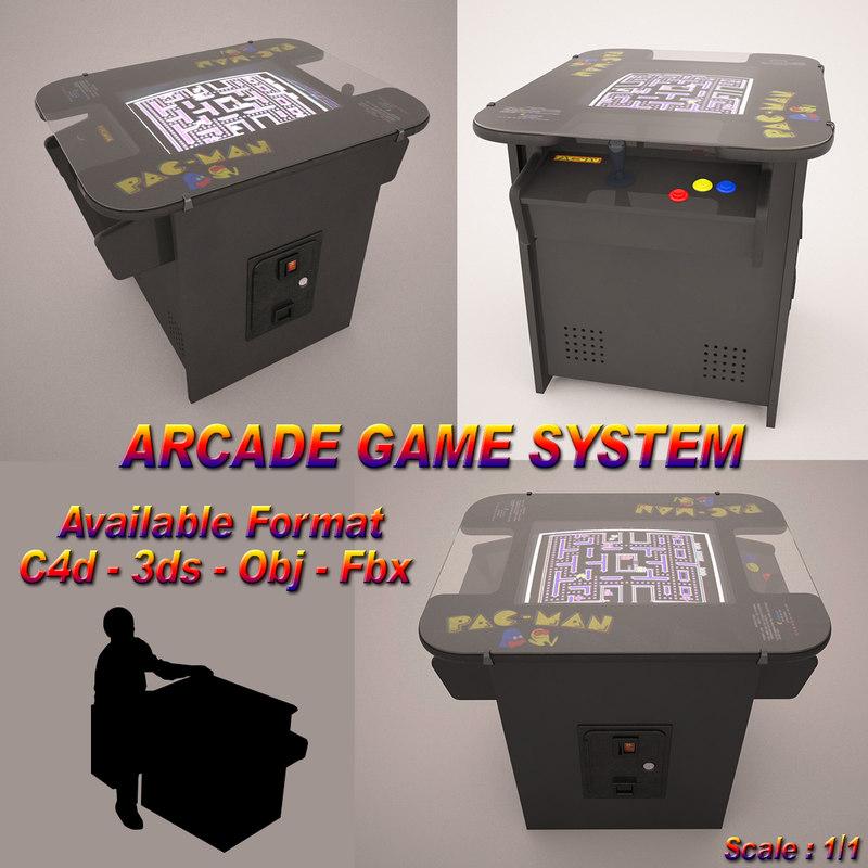 pac-man arcade 3d 3ds