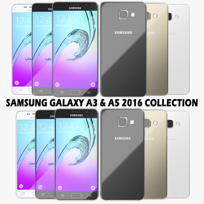 3d realistic samsung galaxy a3