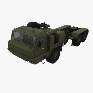 3d model of baz military russian