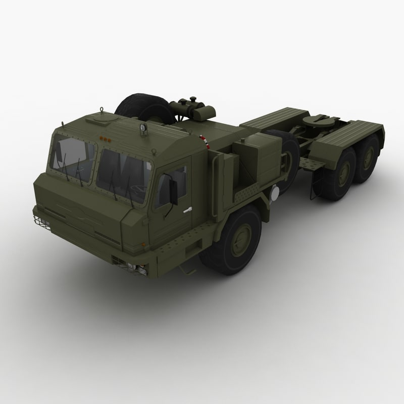 3d model of baz military russian