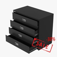filing cabinet 3d max