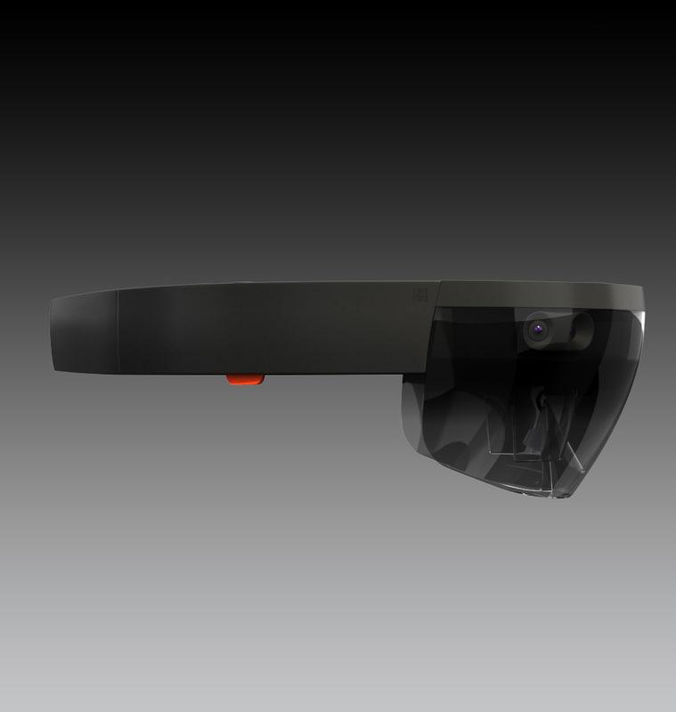 3d microsoft hololens model